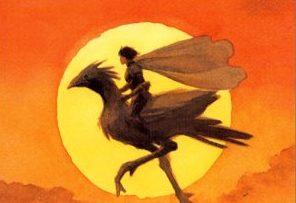 聖剣伝説1のチョコボに乗る主人公