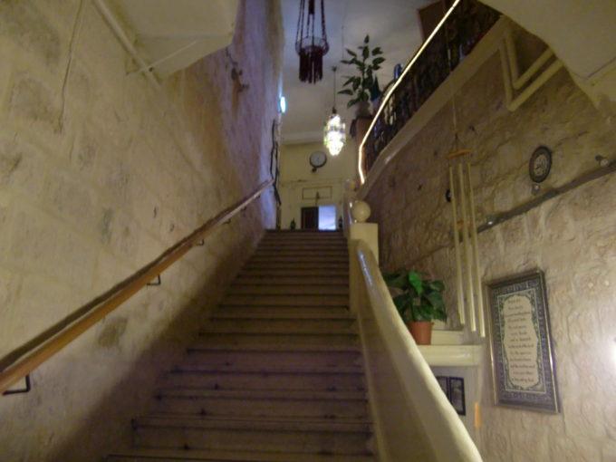 ヤッフォ門近くのホテルの内装
