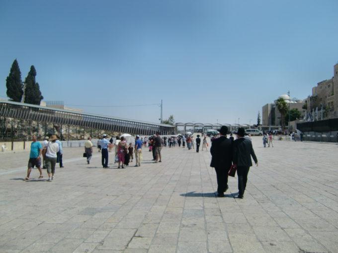 モロッコ門へと繋がるゲート