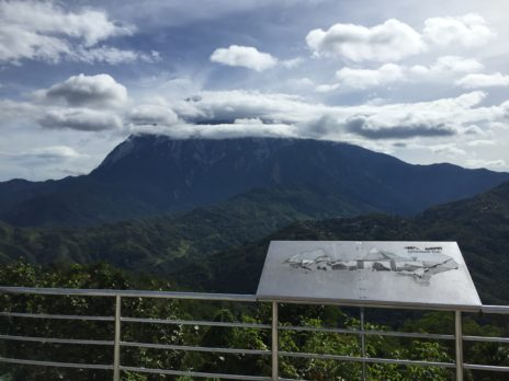 ナバル山から見たキナバル山