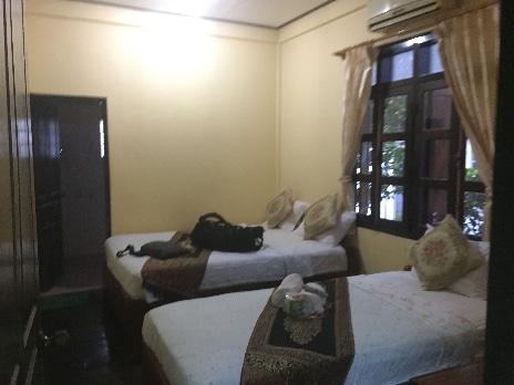 ルアンパバーンソークミサイホテルの部屋-