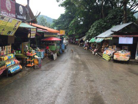 ルアンパバーン、クアンシー滝の売店