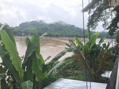 ルアンパバーン、メコン川レストランからの景色2