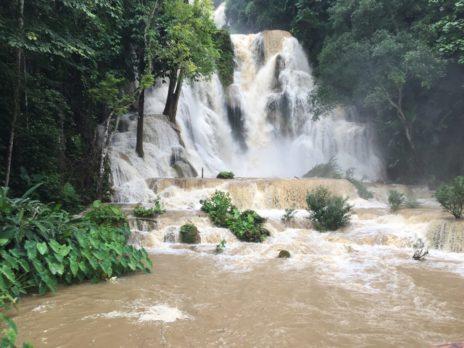 実際のクアンシー滝
