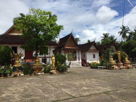 ルアンパバーンのワット寺院