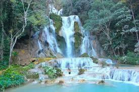 綺麗なクアンシー滝