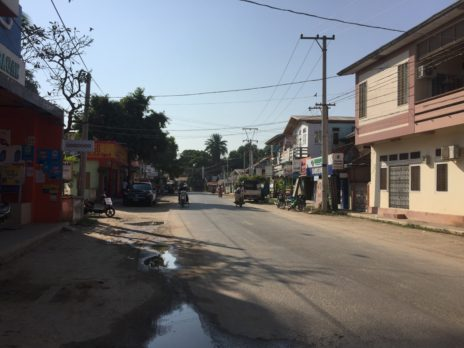 バガンの主要道路