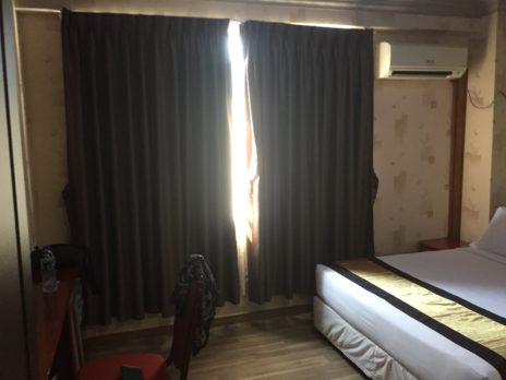 ホテルグランドユナイテッドチャイナタウンの寝室