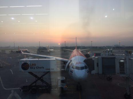 ドンムアン空港から見るエアアジア