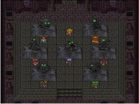 石像のシナリオボスと向き合う7人の主人公