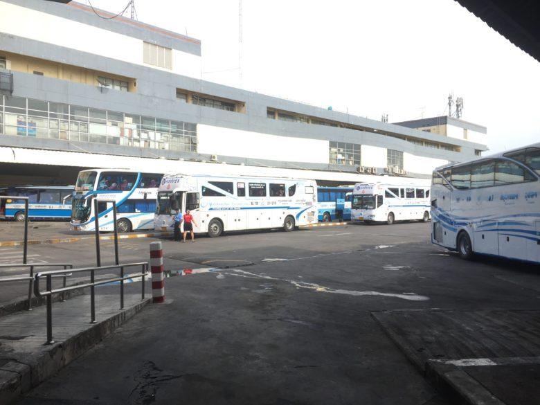 バンコク-パタヤのバス移動失敗談 モーチットバスターミナル発は要注意!!