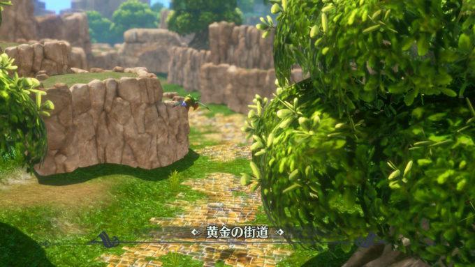 聖剣伝説3リメイク、BGM評価の高い黄金街道の雰囲気