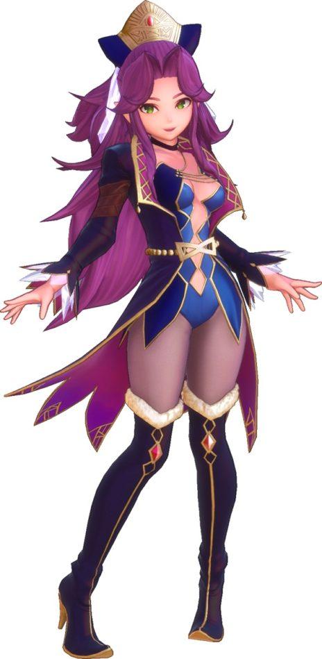 聖剣伝説3アンジェラ、ルーンマスター