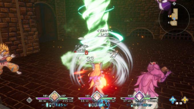 聖剣伝説3リメイク、アクション要素を盛り込んだ戦闘
