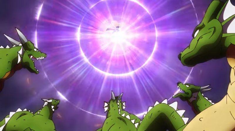 ドラゴン相手にベタンを使用するポップ
