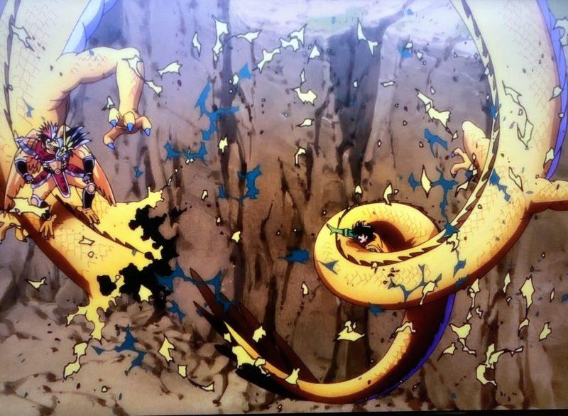 ベギラマでスカイドラゴンを倒すポップ