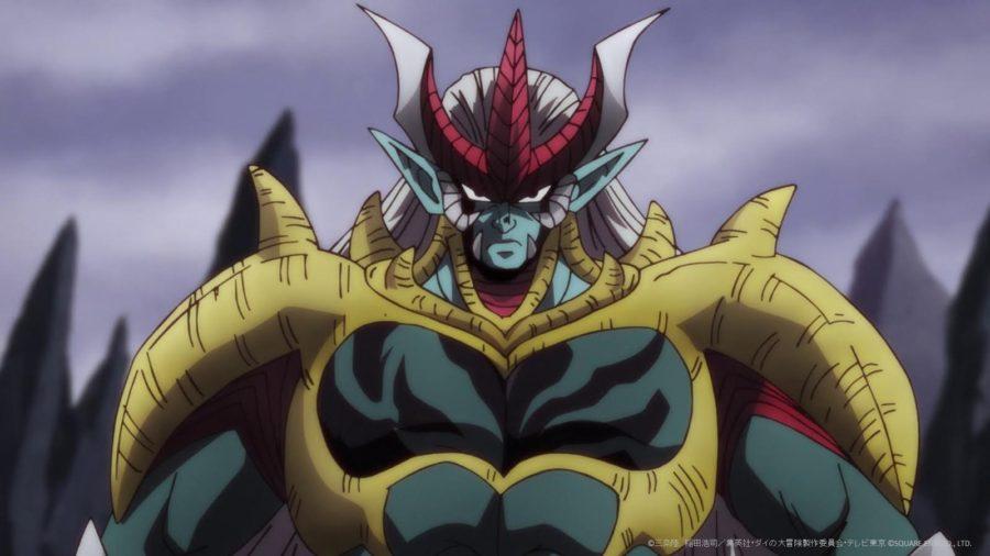 超魔生物化し肉体強化されたハドラー