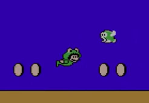 マリオ3のカエルマリオ