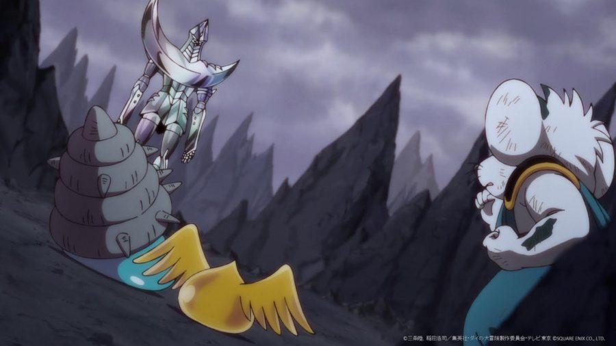 フェンブレンと対面する獣王遊撃隊